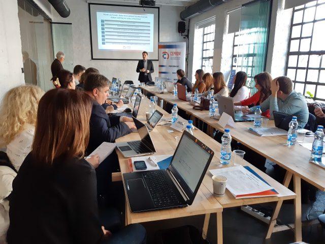 CEPROM Seminar o preduzetničkom novinarstvo